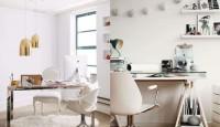Modern Tasarım Çalışma Masası Dekorasyonu Fikirleri