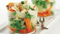 Yağ Yakıcı Cevizli Sebze Salatası