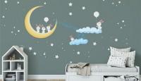 Çocuk Odası Dekorsayonlarında Eğlenceli Duvar Etiketleri