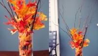 Ev Dekorasyonunda Sonbahar Yaprakları